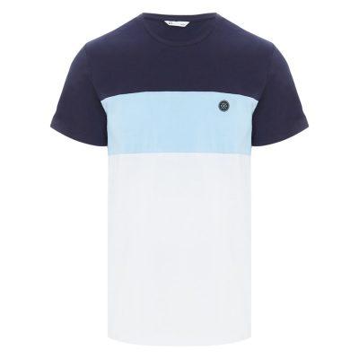 Fashion 4 Men - yd. Barren Ss Tee Blue L