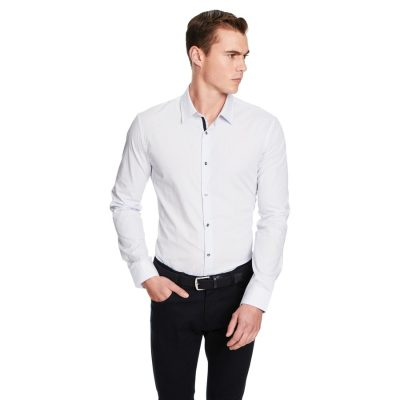 Fashion 4 Men - yd. Carlisle Dress Shirt White M