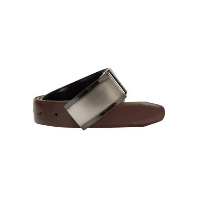 Fashion 4 Men - yd. Franklin Dress Belt Tan/Black 34