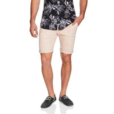 Fashion 4 Men - yd. Jet Chino Short Light Pink 33