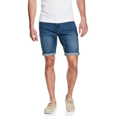 Fashion 4 Men - yd. Kenny Denim Short Mid Blue 26