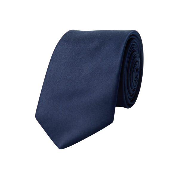 Fashion 4 Men - yd. Matte Satin 6.5 Cm Tie Navy One