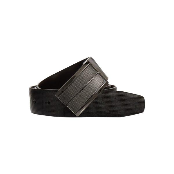 Fashion 4 Men - yd. Milano Dress Belt Black 30
