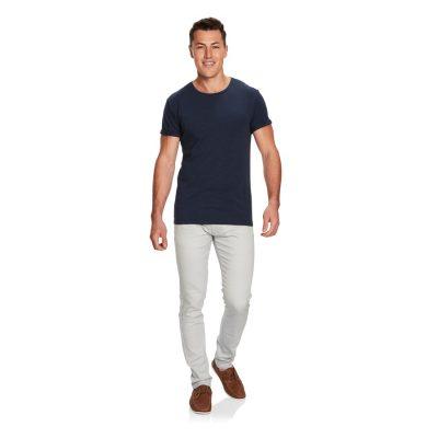 Fashion 4 Men - yd. Muscle Basic Tee Denim Marle Xs
