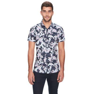 Fashion 4 Men - yd. Pirate Ss Shirt Teal M