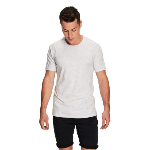 Fashion 4 Men - yd. Relaxed Basic Tee Light Grey M