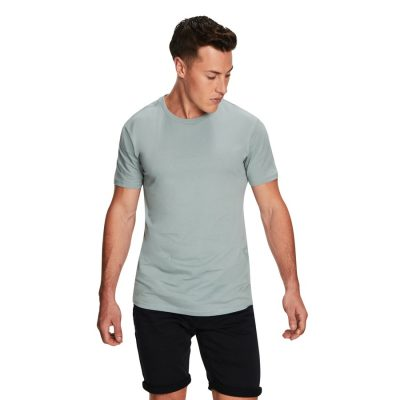 Fashion 4 Men - yd. Relaxed Basic Tee Seafoam 2 Xs