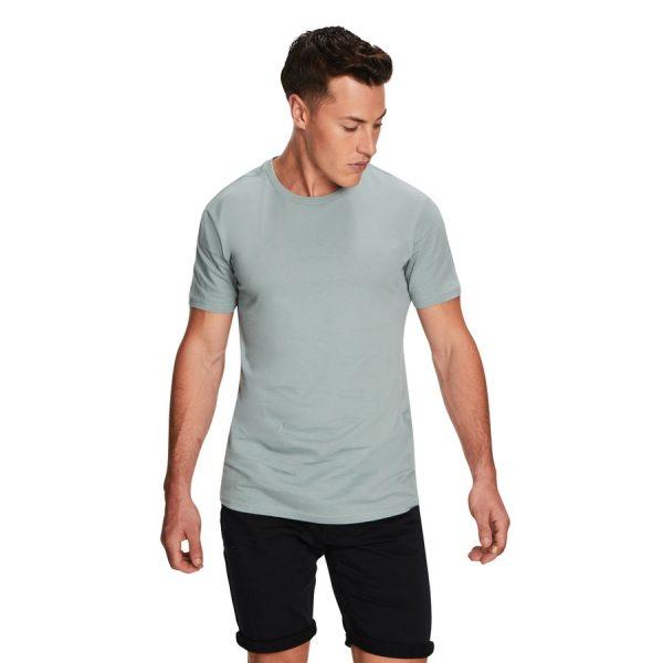 Fashion 4 Men - yd. Relaxed Basic Tee Seafoam 2 Xs