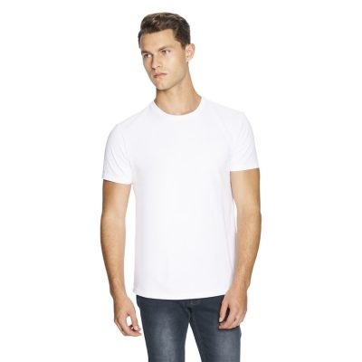 Fashion 4 Men - yd. Relaxed Basic Tee White Xs
