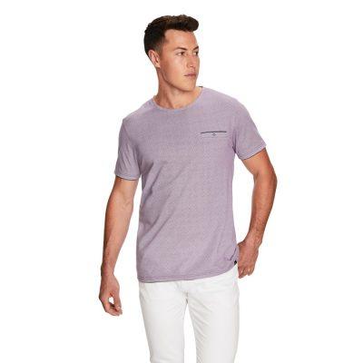 Fashion 4 Men - yd. Rico Ss Tee Burgundy 3 Xl