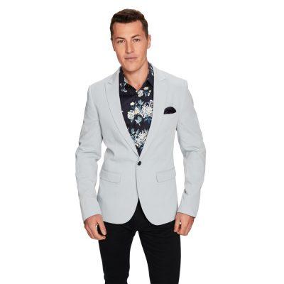 Fashion 4 Men - yd. Rivera Blazer Light Blue M