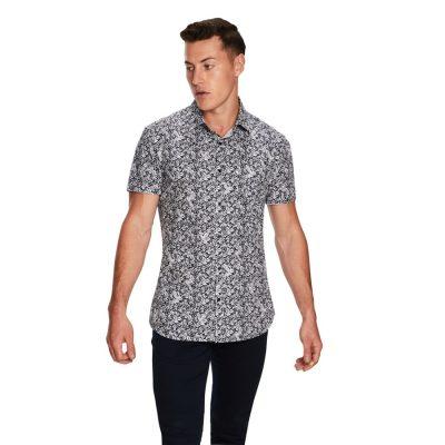Fashion 4 Men - yd. Sparrow Ss Shirt Navy Xxxl