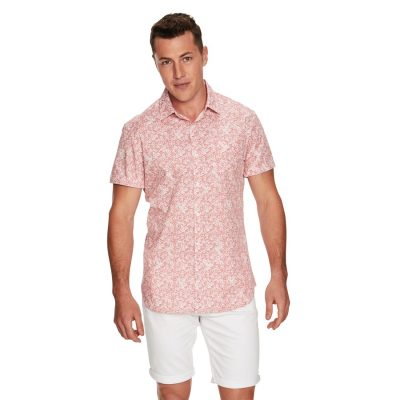 Fashion 4 Men - yd. Sparrow Ss Shirt Pink Xs