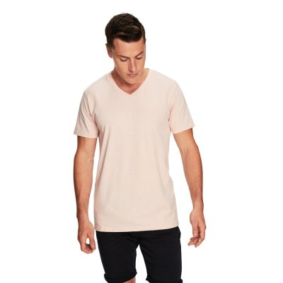 Fashion 4 Men - yd. Vinton Tee Peach L