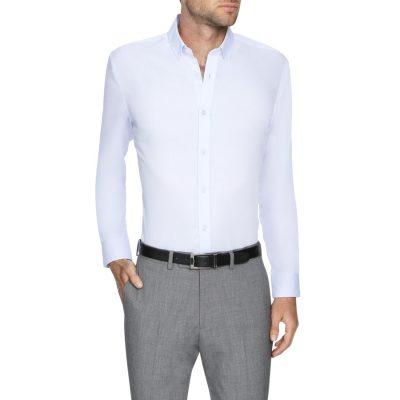 Fashion 4 Men - Tarocash Bermuda Slim Easy Iron Shirt Lilac S