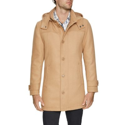 Fashion 4 Men - Tarocash Ireland Coat Camel S