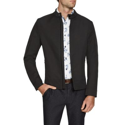 Fashion 4 Men - Tarocash Outlaw Biker Jacket Black Xxl