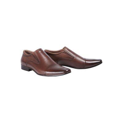 Fashion 4 Men - Tarocash Whiskey Slip On Shoe Brown 8