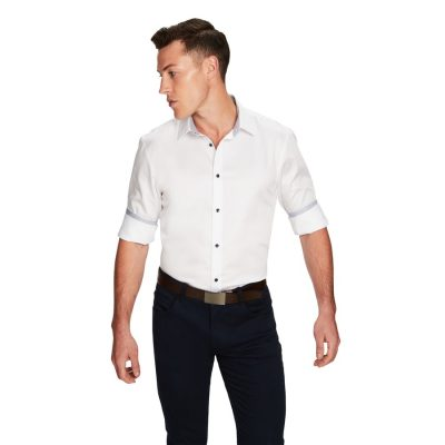 Fashion 4 Men - yd. Arizona Shirt White M