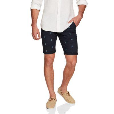Fashion 4 Men - yd. Boracay Printed Short Navy 38