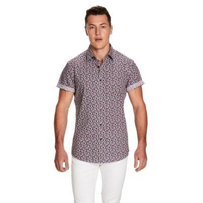 Fashion 4 Men - yd. Dakota Ss Shirt Blue Xxl