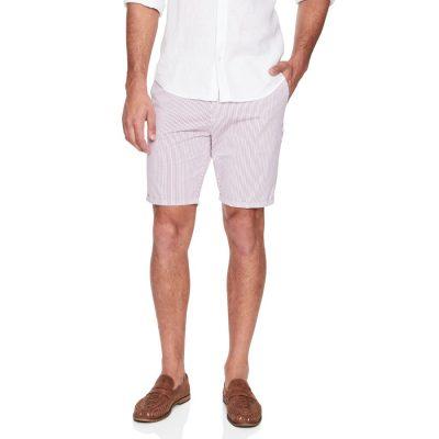 Fashion 4 Men - yd. Dragon Stripe Short Red/White 36