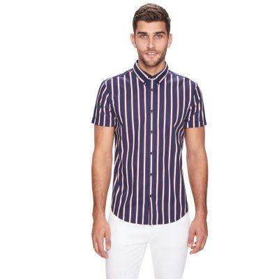 Fashion 4 Men - yd. Dream Time Ss Shirt Dark Blue L
