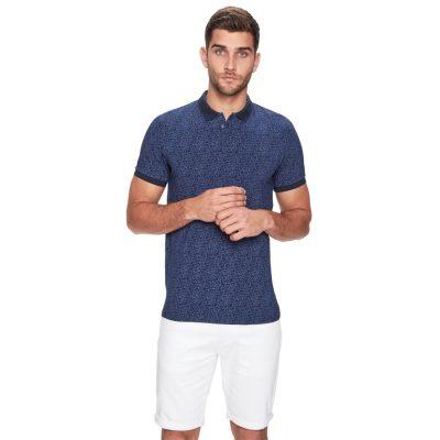 Fashion 4 Men - yd. Edris Polo Navy 2 Xs