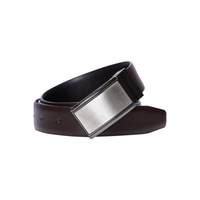Fashion 4 Men - yd. Garby Dress Belt Mocha Chocolate 34