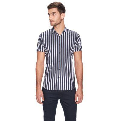 Fashion 4 Men - yd. Jamie Ss Shirt Black S