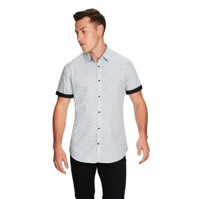 Fashion 4 Men - yd. Kip Ss Shirt Teal L