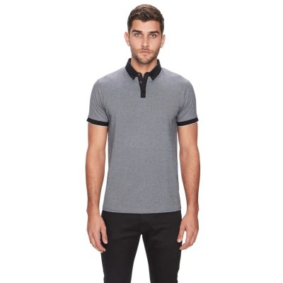 Fashion 4 Men - yd. Nacho Polo Black 2 Xl