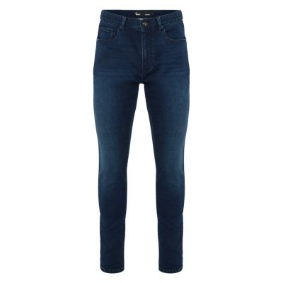 Fashion 4 Men - yd. Nickelback Skinny Jean Dark Blue 30