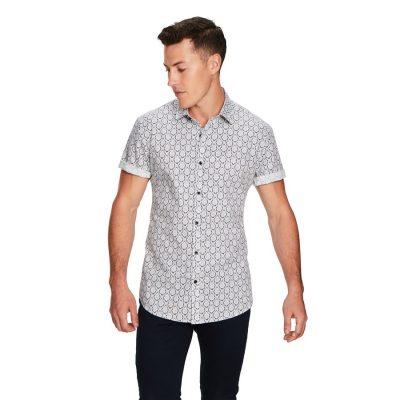 Fashion 4 Men - yd. Planet Ss Shirt Dark Blue L