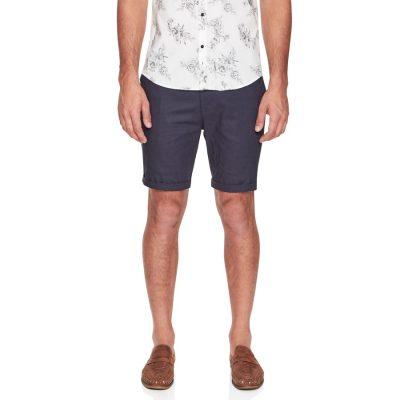 Fashion 4 Men - yd. Santorini Linen Short Navy 38