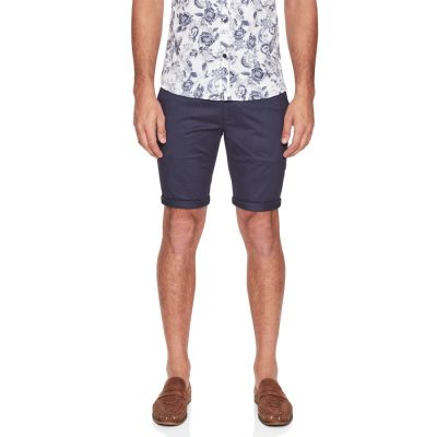 Fashion 4 Men - yd. Valiant Chino Short Petrol 36