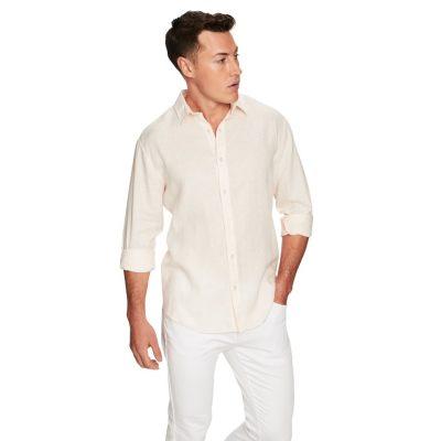 Fashion 4 Men - yd. West Hampton Shirt Peach Xs