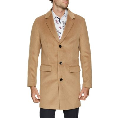 Fashion 4 Men - Tarocash Manchester Coat Camel Xxxl