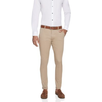 Fashion 4 Men - yd. Austin Chino Sand 36