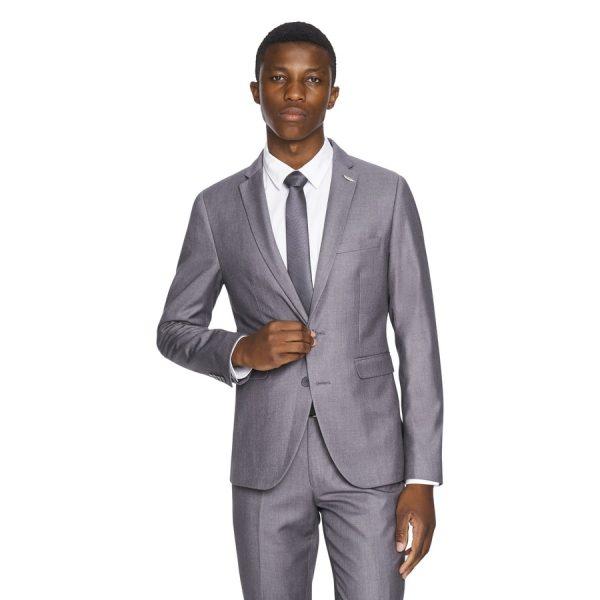 Fashion 4 Men - yd. Carrera Skinny Suit Jacket Silver 38
