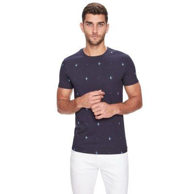 Fashion 4 Men - yd. Florida Ss Tee Navy Xs