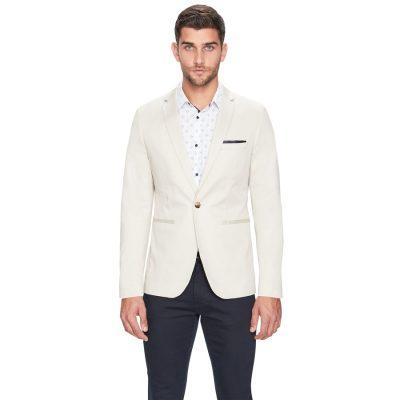 Fashion 4 Men - yd. Lonzo Cotton Blazer Almond Xs