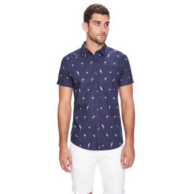 Fashion 4 Men - yd. Rancho Fun Shirt Blue Xxl
