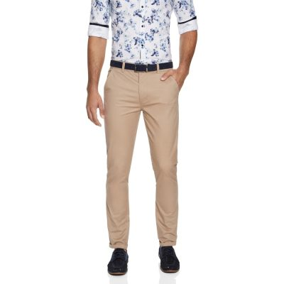 Fashion 4 Men - yd. Rocko Slim Chino Tan 26