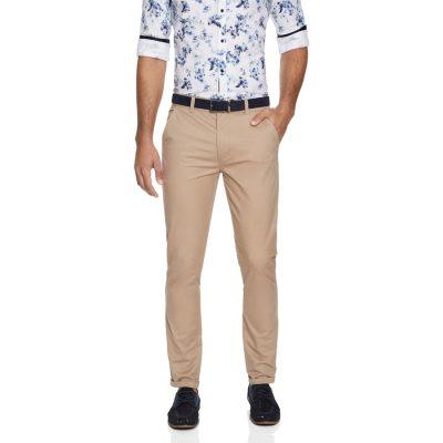 Fashion 4 Men - yd. Rocko Slim Chino Tan 40