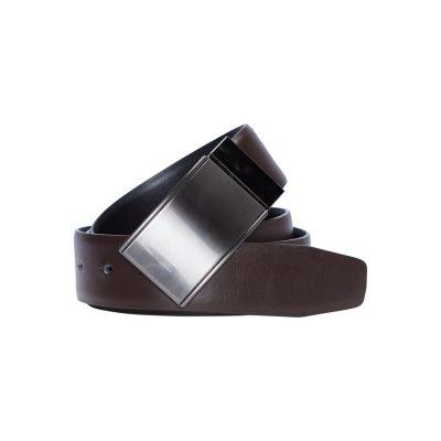 Fashion 4 Men - yd. Williams Dress Belt Chocolate 38