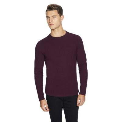 Fashion 4 Men - yd. Arnold Muscle Fit Top Burgundy 2 Xs