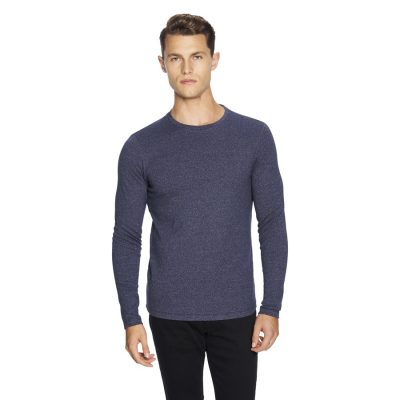 Fashion 4 Men - yd. Arnold Muscle Fit Top Navy 2 Xl