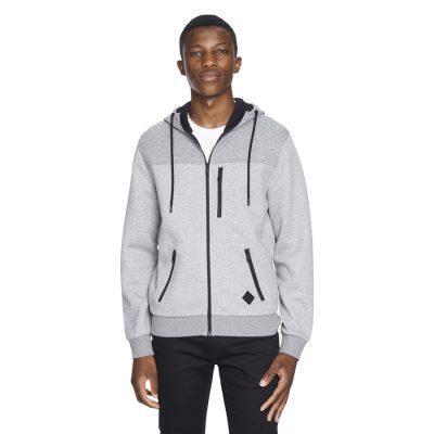 Fashion 4 Men - yd. Aspen Hoodie Grey M