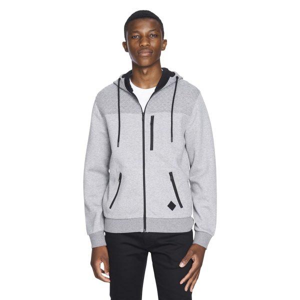 Fashion 4 Men - yd. Aspen Hoodie Grey Xs